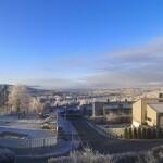 Vinter i Bogeråsen borettslag
